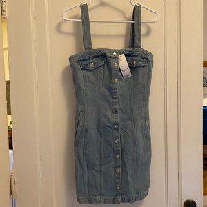 Urban Outfitters denim mini dress